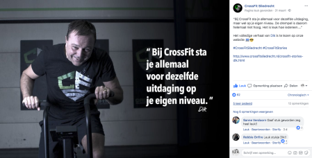 CrossFit Stories Dik